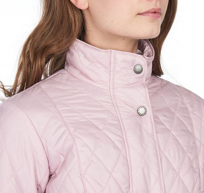 Barbour Flyweight Cavalry Quilted Jacket for Ladies in Blossom