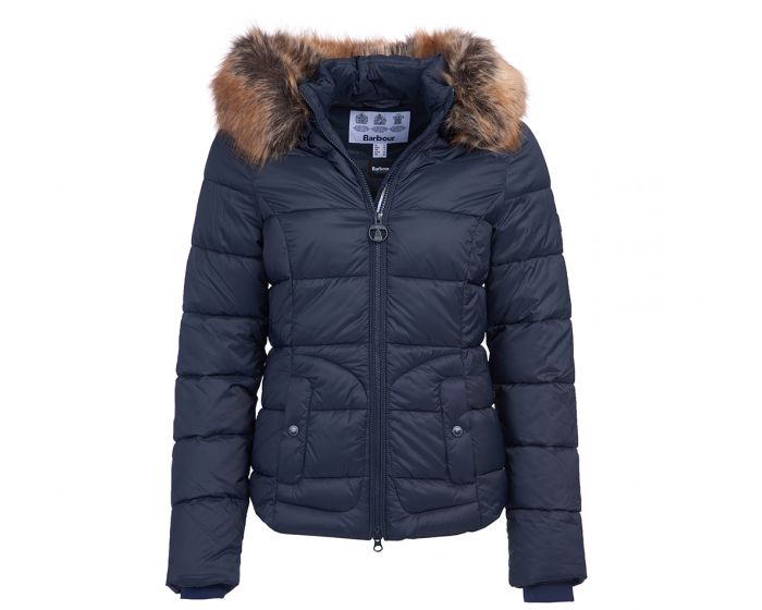 Barbour Dover Quilted Jacket for Ladies in Dark Navy