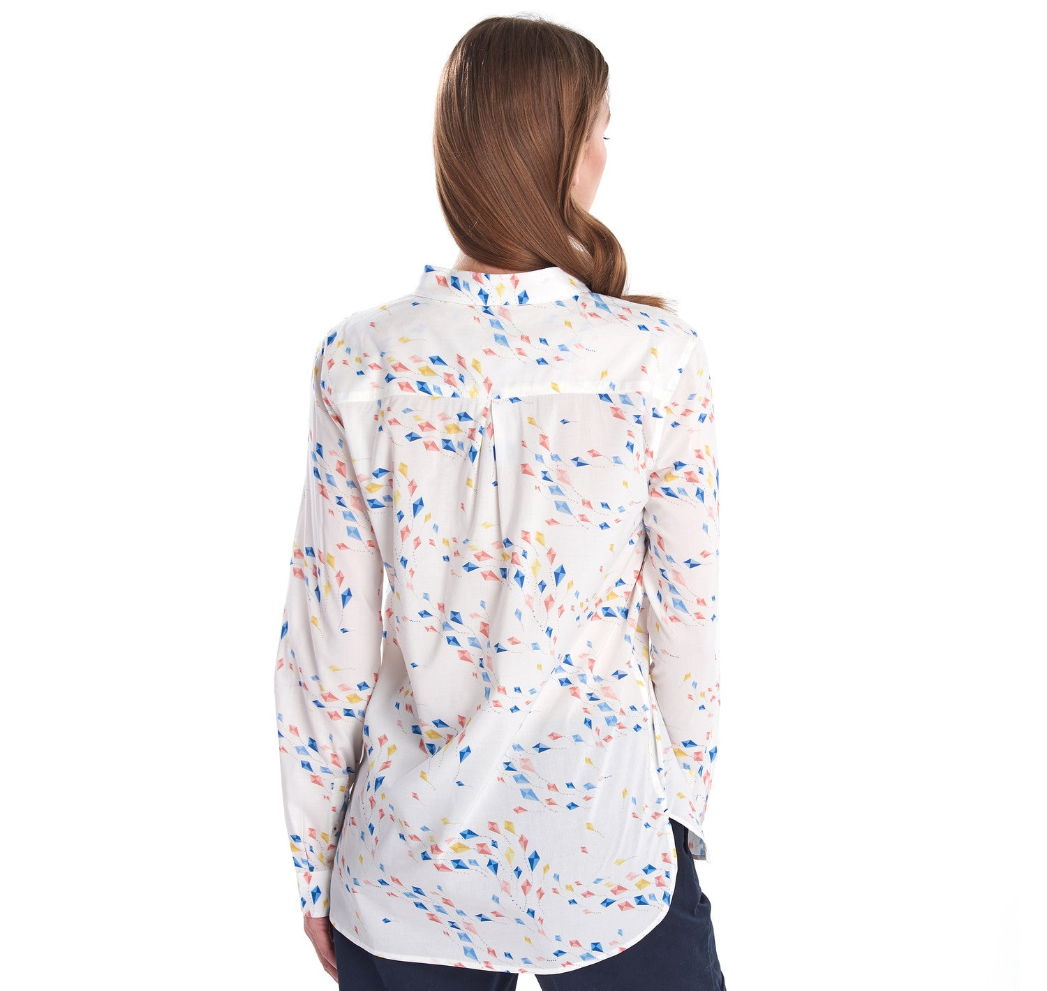 Barbour Waterside Shirt for Ladies in Off White