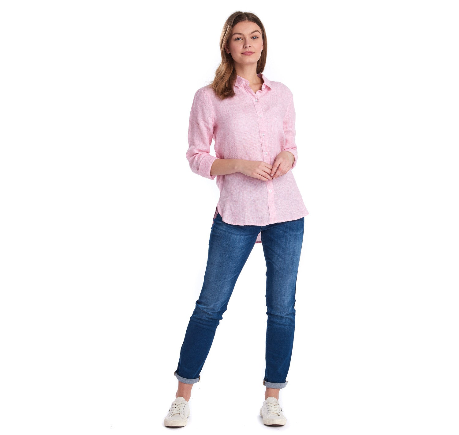 Barbour Marine Shirt for Ladies in Pink