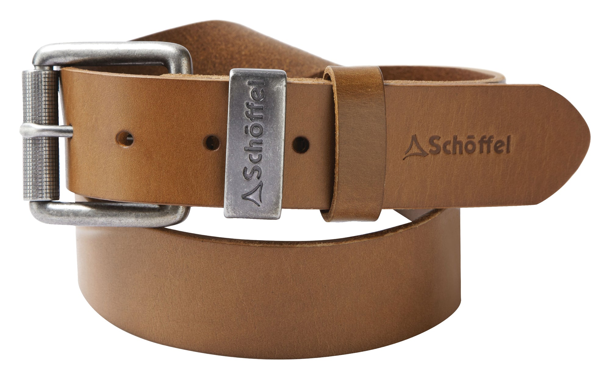Schoffel Leather Belt for Men in Tan