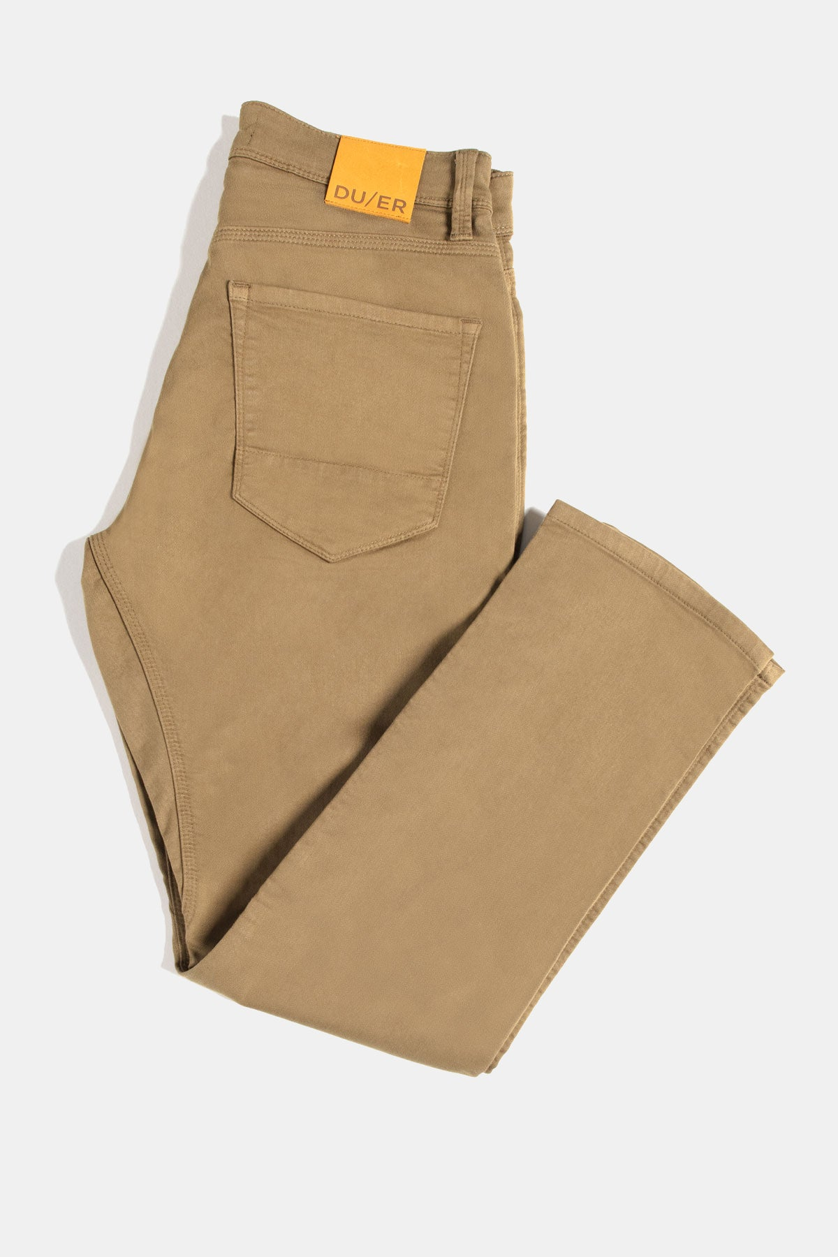 Duer No Sweat Pant Relaxed for Men in Tobacco Brown