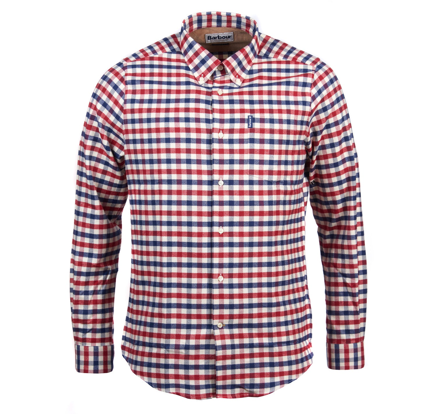 Barbour Country Check 3 Tailored Shirt for Men in Red