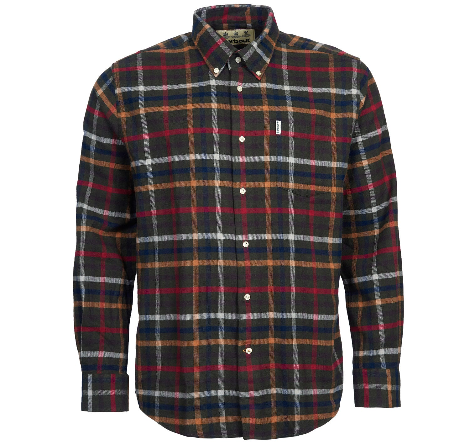 Barbour Hadlo Checked Shirt for Men in Olive
