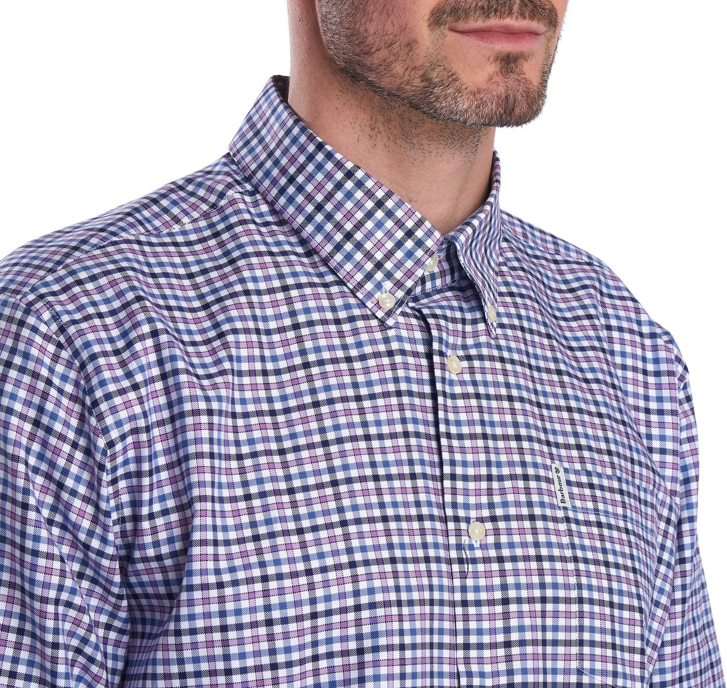 Barbour Agden Regular Fit Shirt for Men in Heather