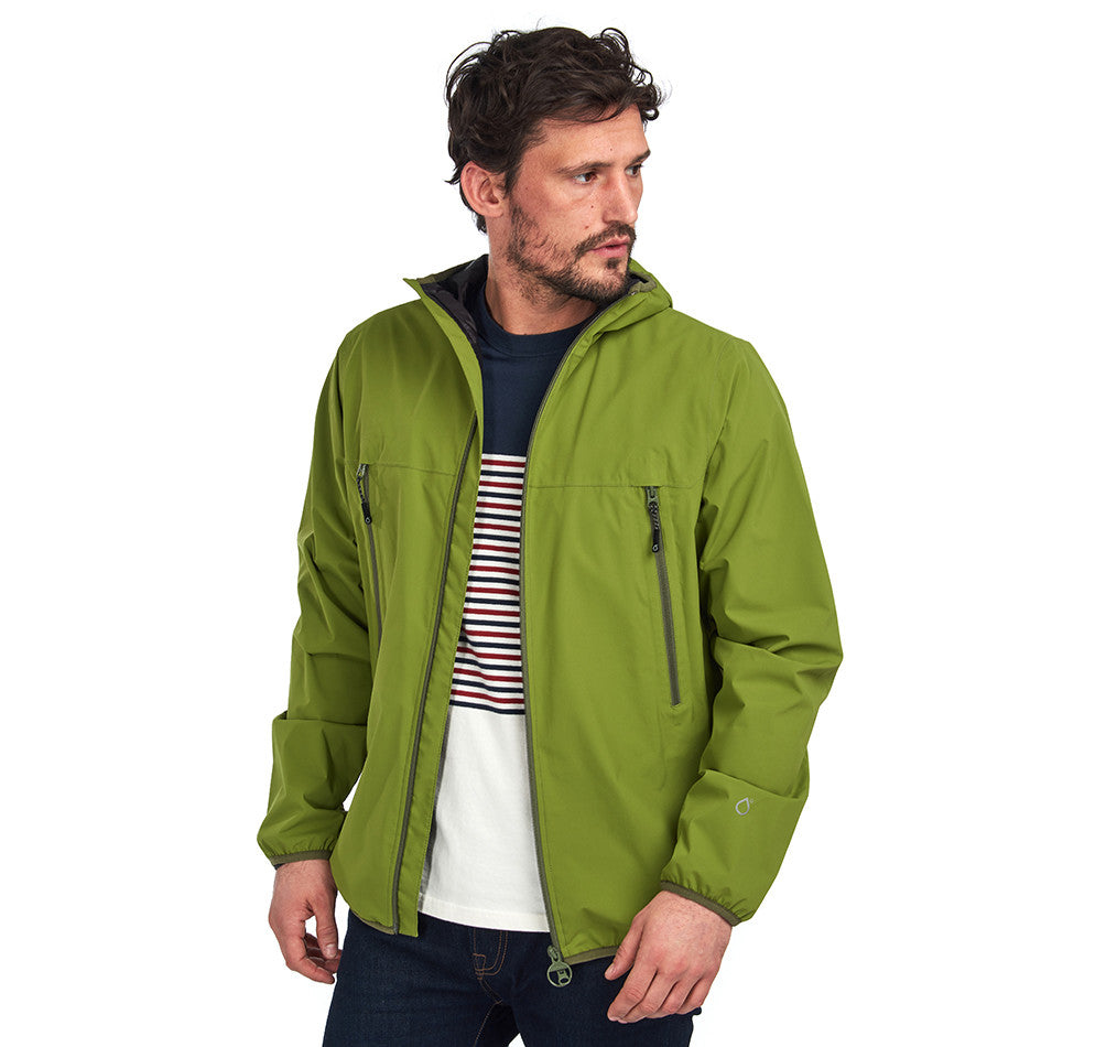 Barbour Tinmouth Waterproof Jacket for Men in Bulrush
