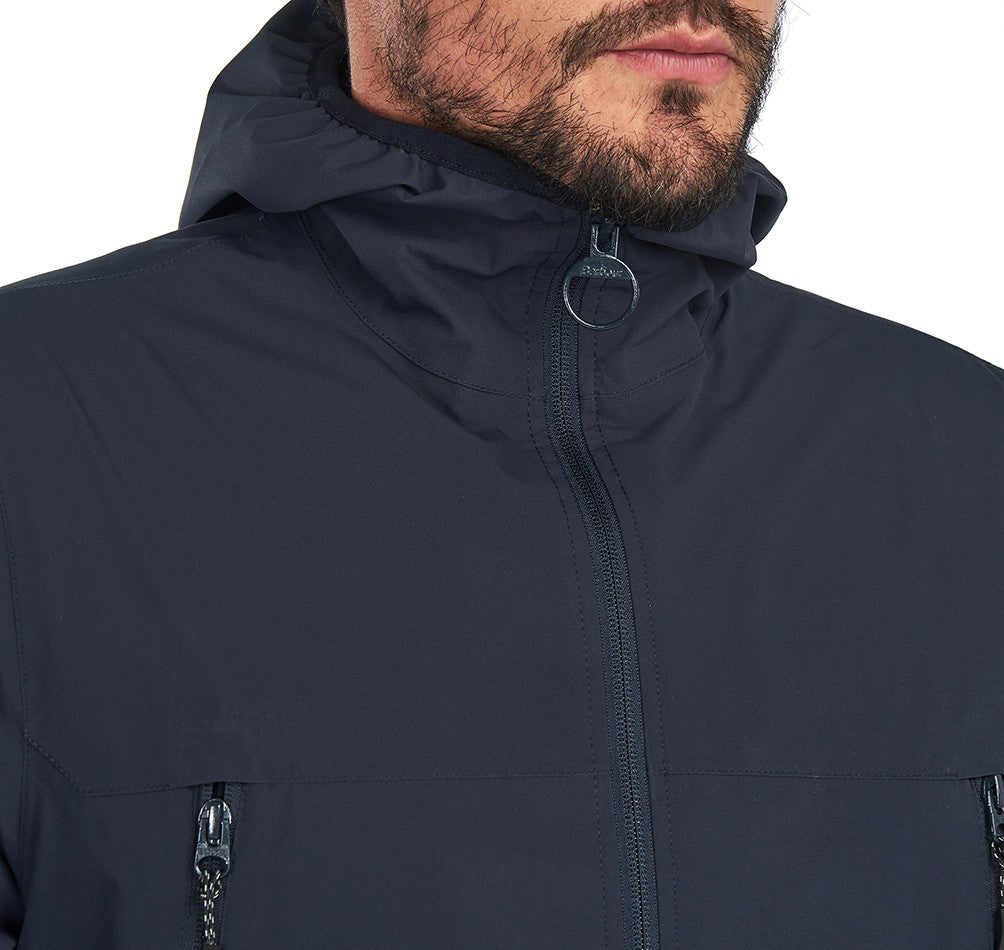 Barbour Tinmouth Waterproof Jacket for Men in Navy