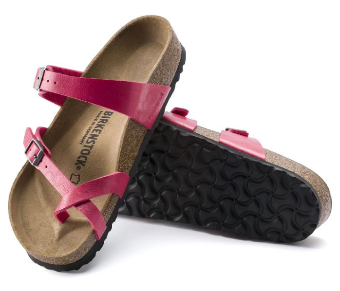 Birkenstock Mayari BF Graceful Sandal for Ladies in Raspberry