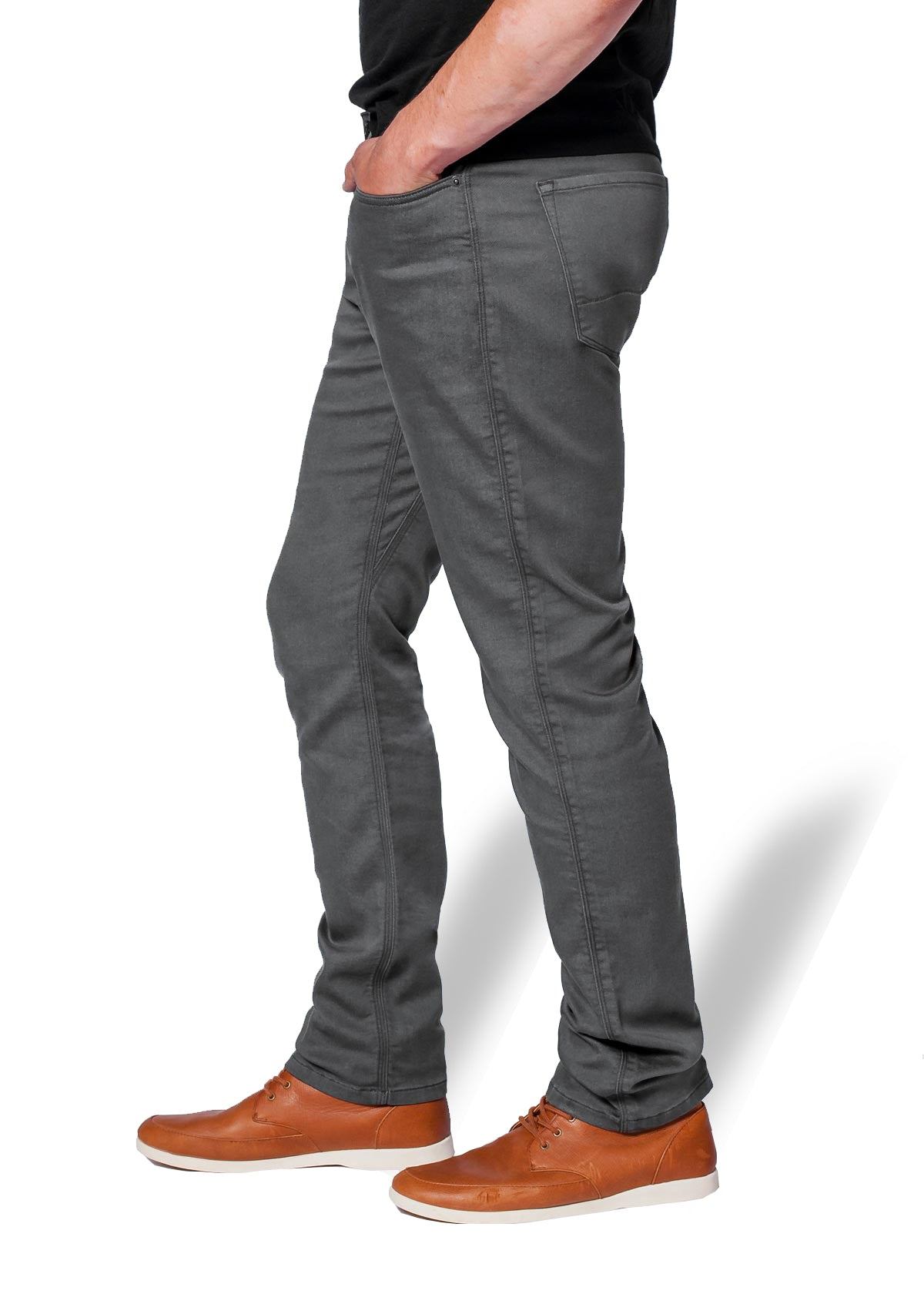 Duer No Sweat Pant Relaxed for Men in Gull Grey