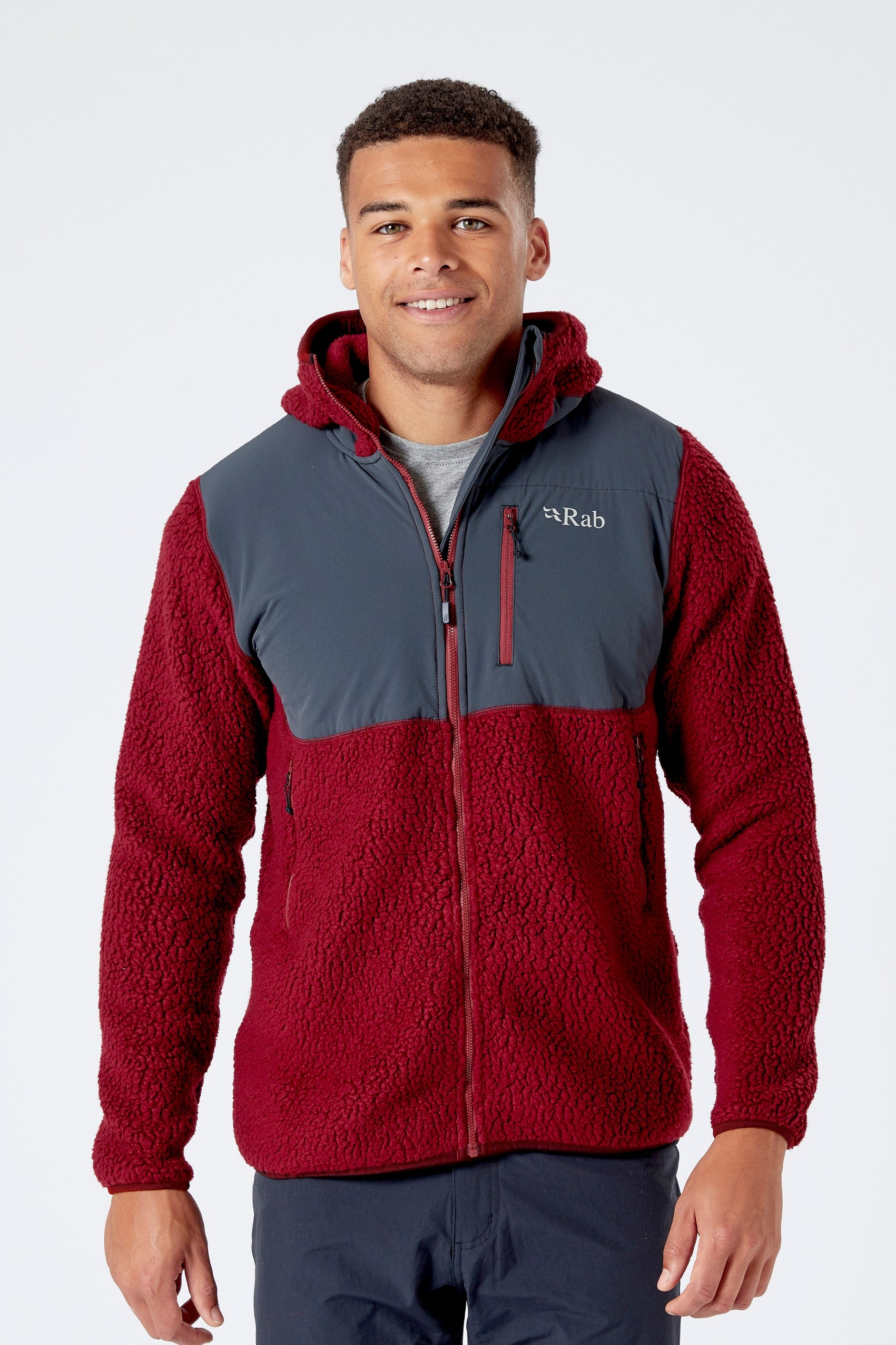 Rab Outpost Jacket for Men in Oxblood Red