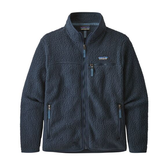 Patagonia Retro Pile Jacket for Ladies in New Navy