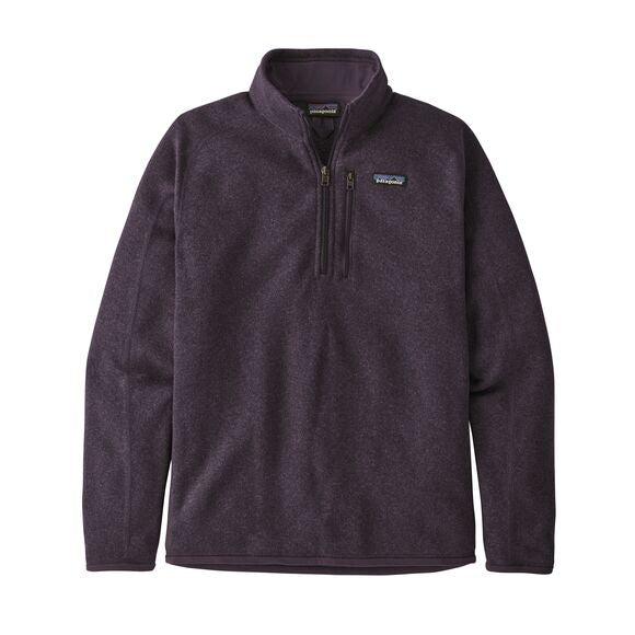 Patagonia Better Sweater 1/4 Zip for Men in Piton Purple