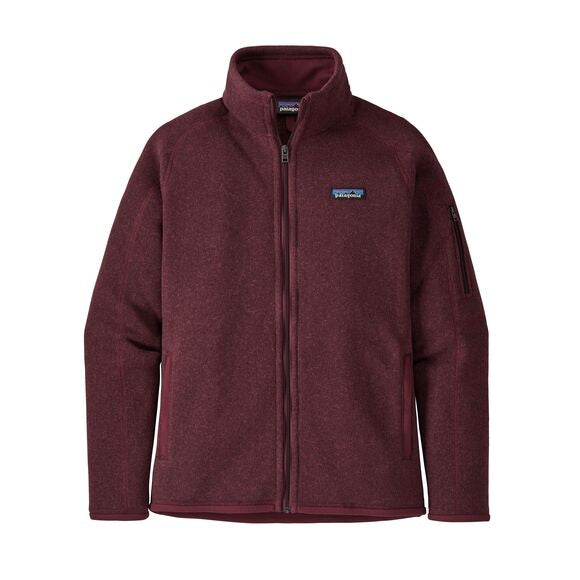 Patagonia Better Sweater Jacket for Ladies in Chicory Red