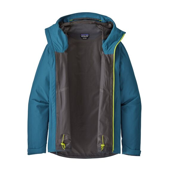 Patagonia Calcite Waterproof Jacket for Men in Crater Blue