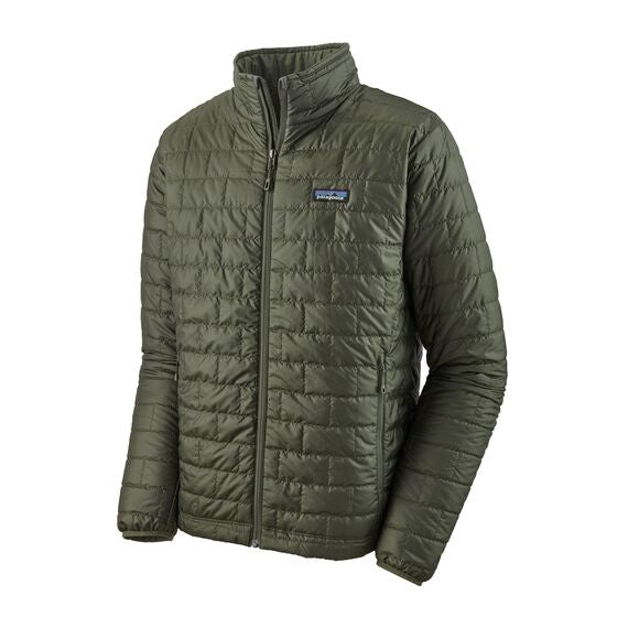Patagonia Nano Puff Quilted Jacket for Men in Kelp Forest