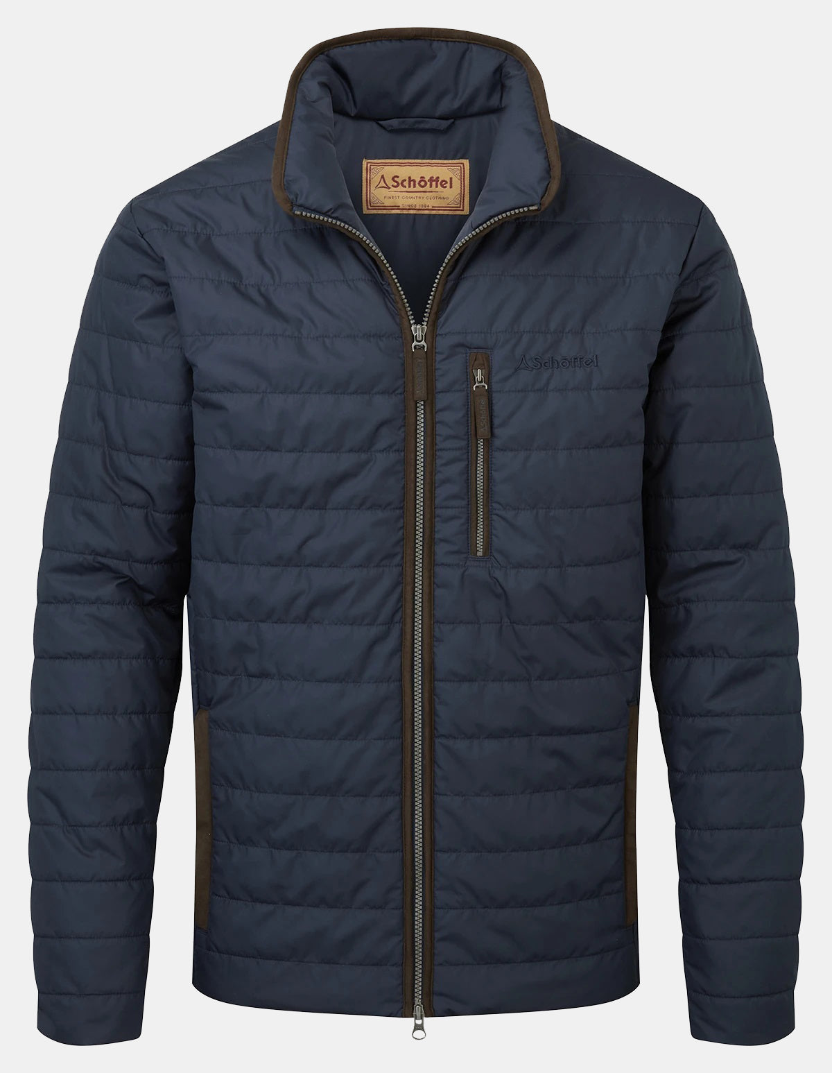 Schoffel Carron Quilted Jacket for Men in Navy