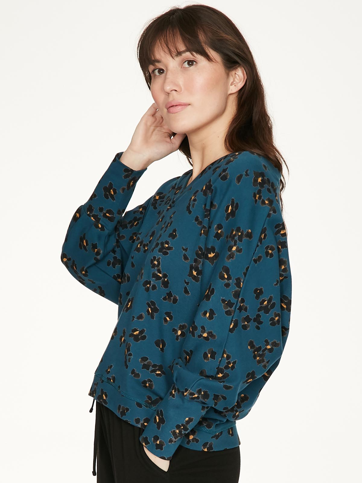 Thought Jekyll Top for Ladies in Majolica Blue