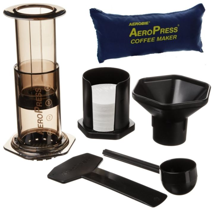 Aeropress Portable Coffee Maker and Tote Bag