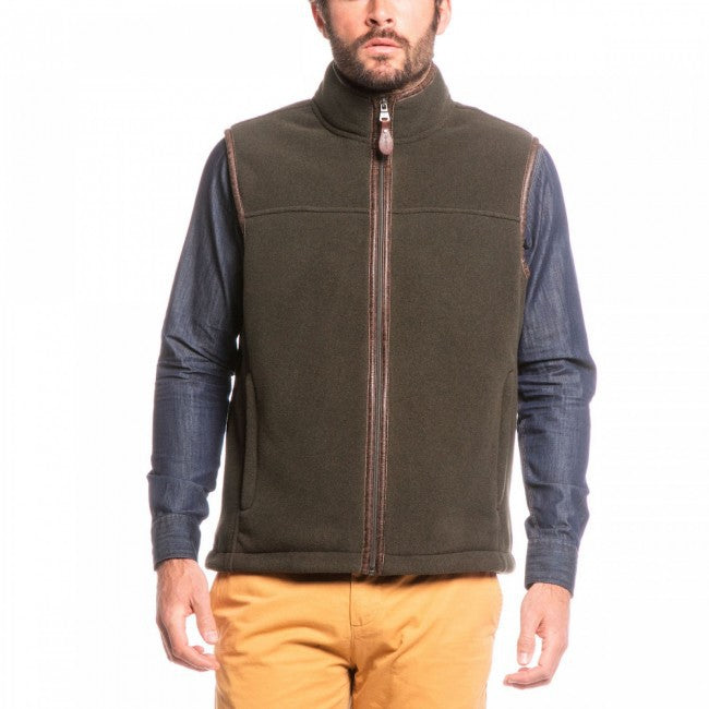 Aigle Shepper W Gilet for Men in Mouton Bronze Chine