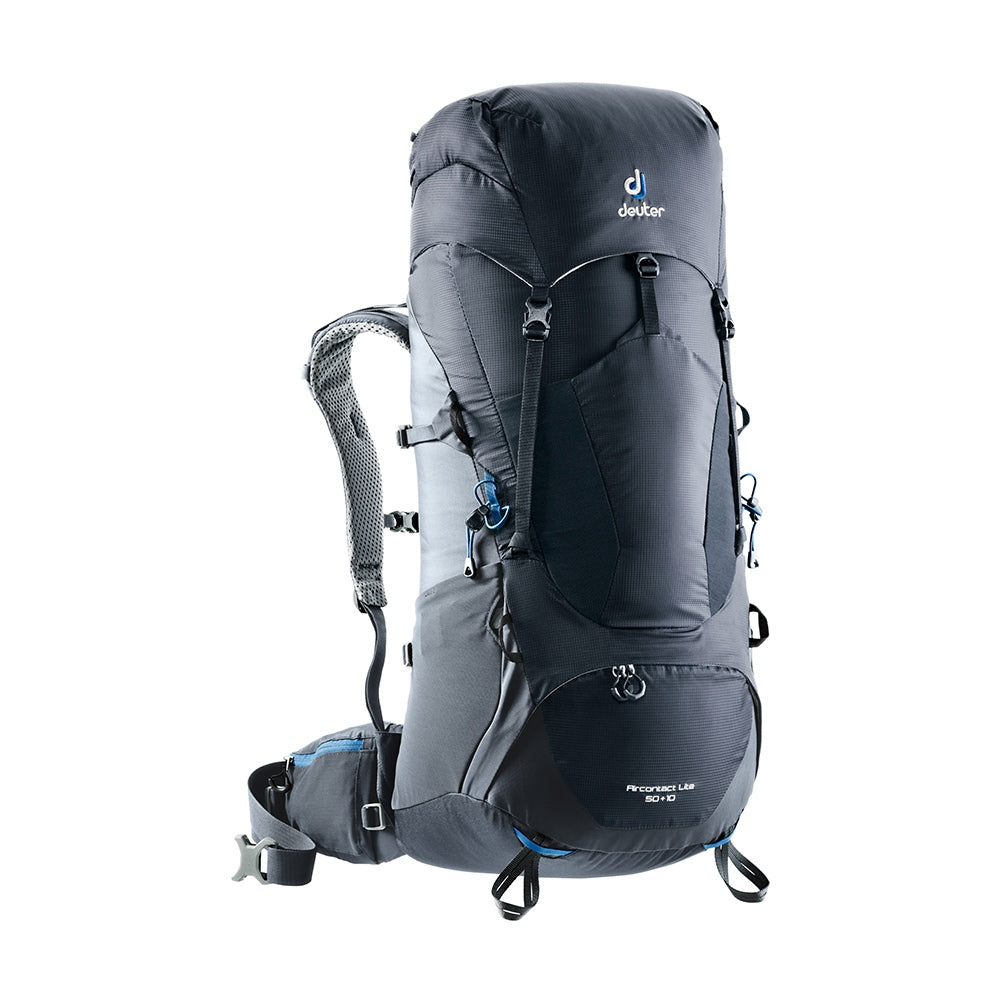 Deuter Aircontact Lite 50 + 10 Litre Backpack in Black Graphite