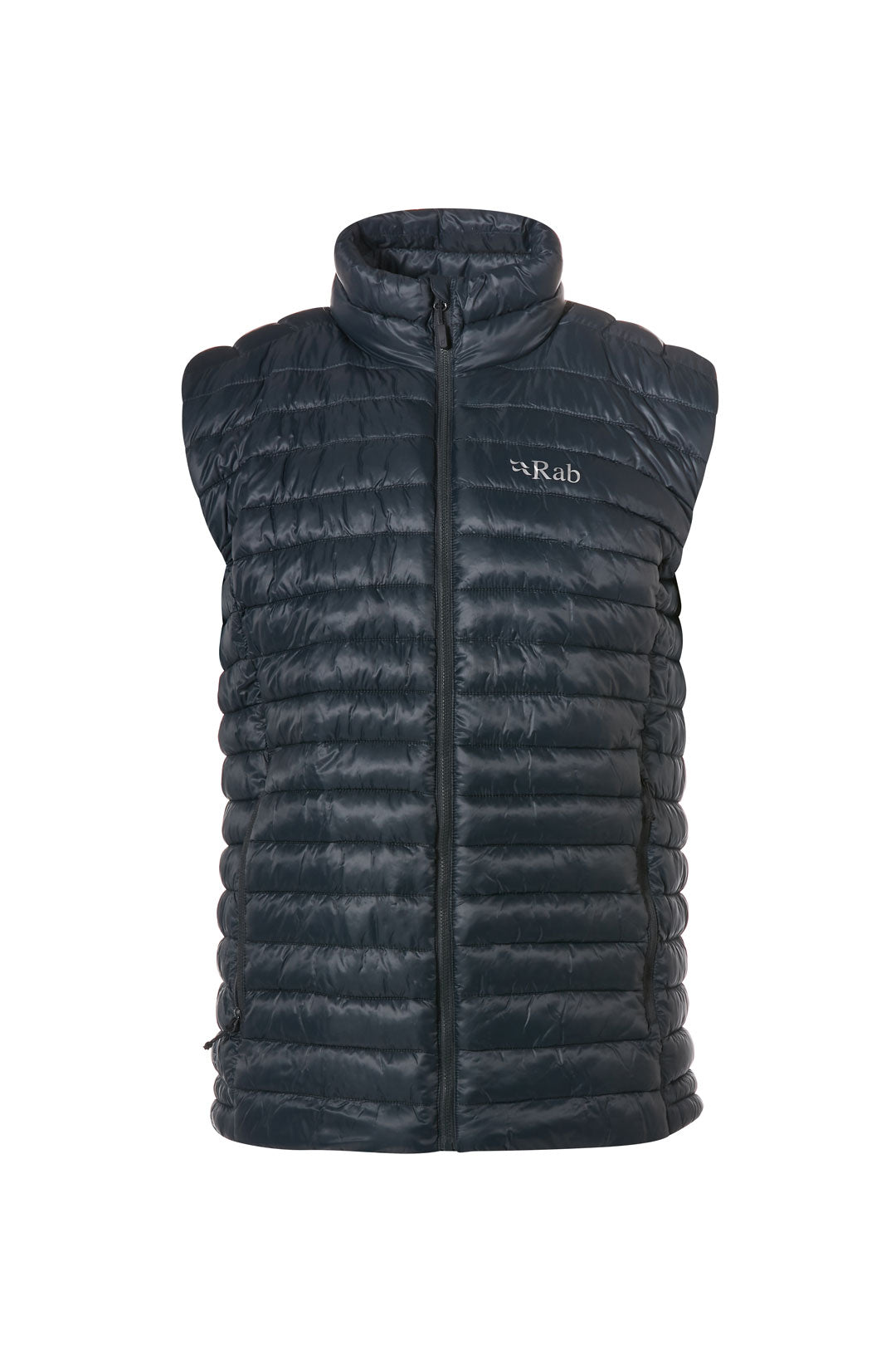 Rab Altus Lightweight Gilet for Men in Beluga / Zinc