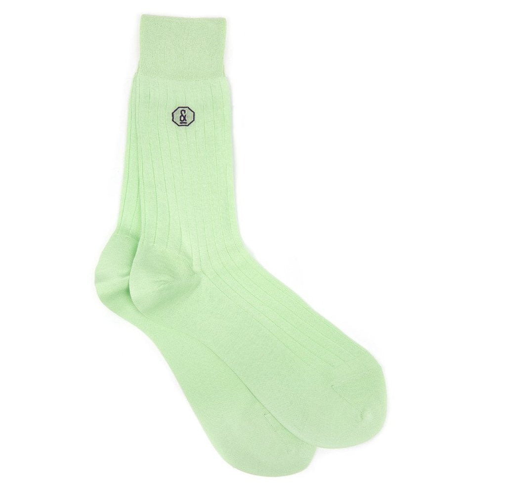 Banvard and James Archer Socks in Mint