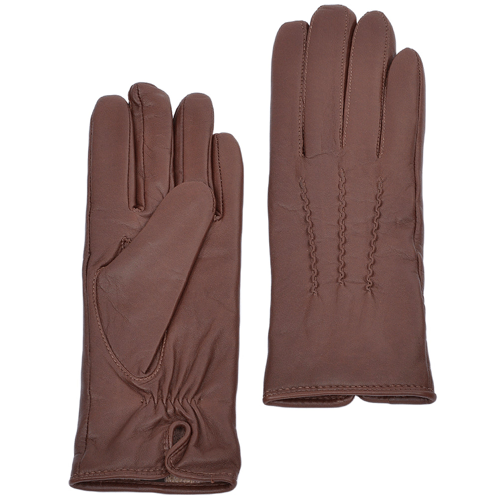Ashwood 401 Leather Glove for Ladies in Tan