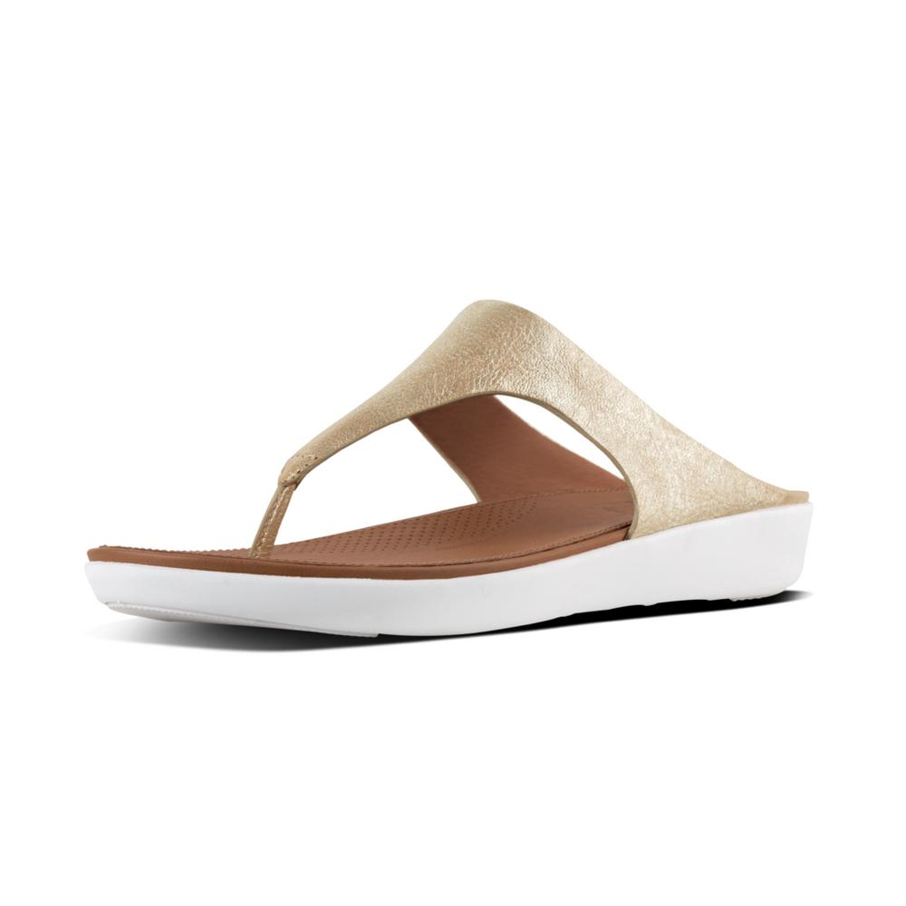 Fitflop Banda II Toe Thong Sandal for Ladies in Metallic Gold