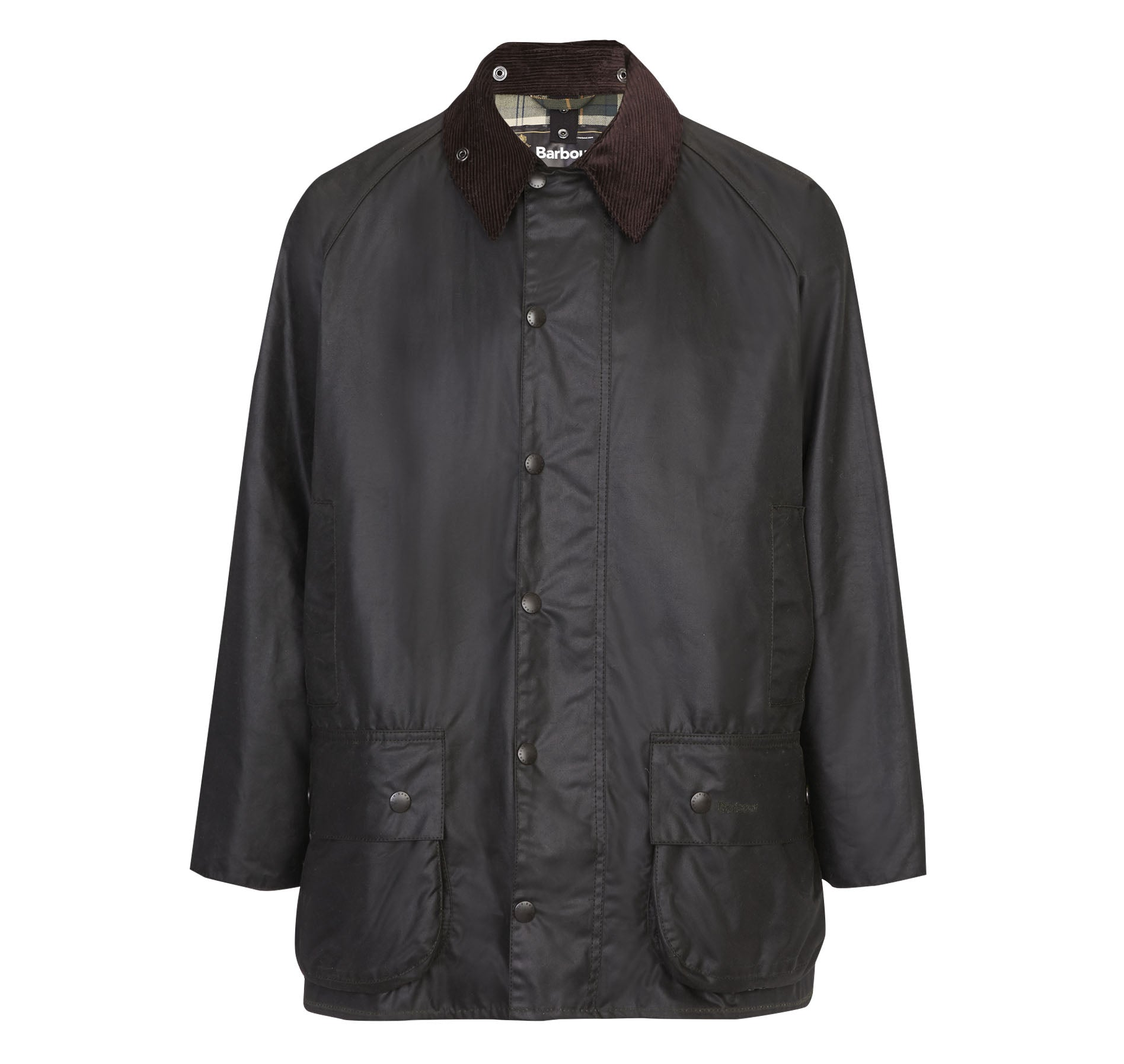 Barbour Beaufort Wax Jacket for Men in Sage