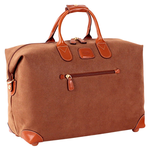 Brics Small Clipper 18 Inch Holdall in Camel