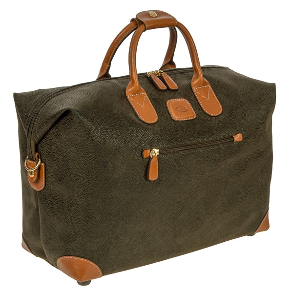 Brics Small Clipper 18 Inch Holdall in Olive
