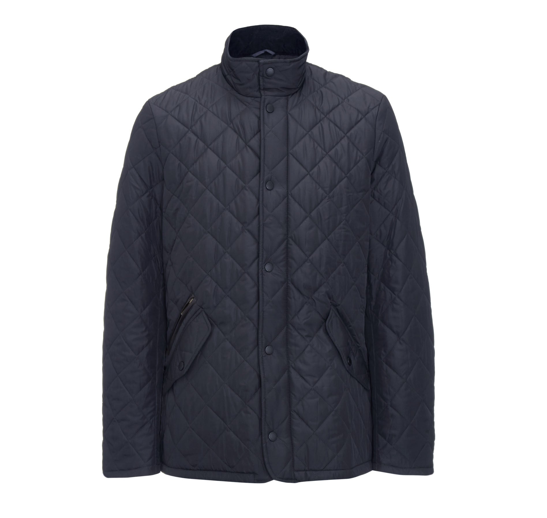 Barbour Chelsea Sportsquilt for Men in Navy