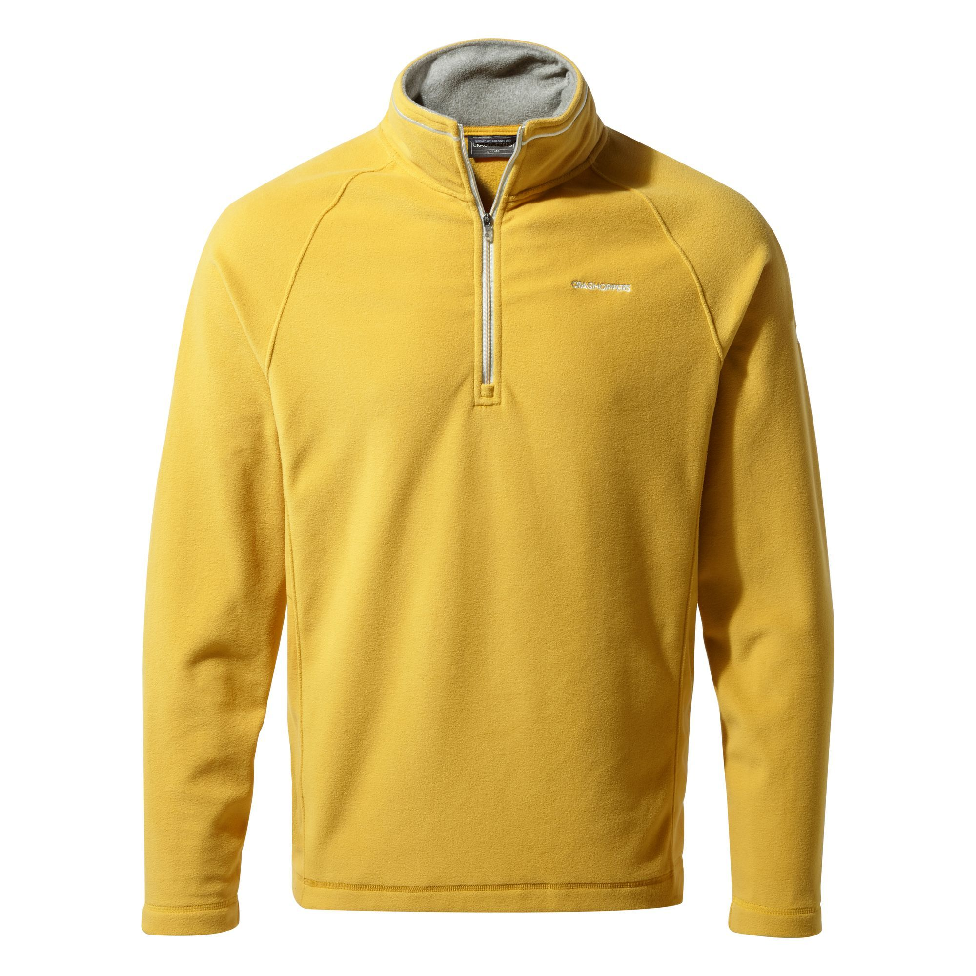 Craghoppers Corey Half Zip Fleece for Men in Soft Gold
