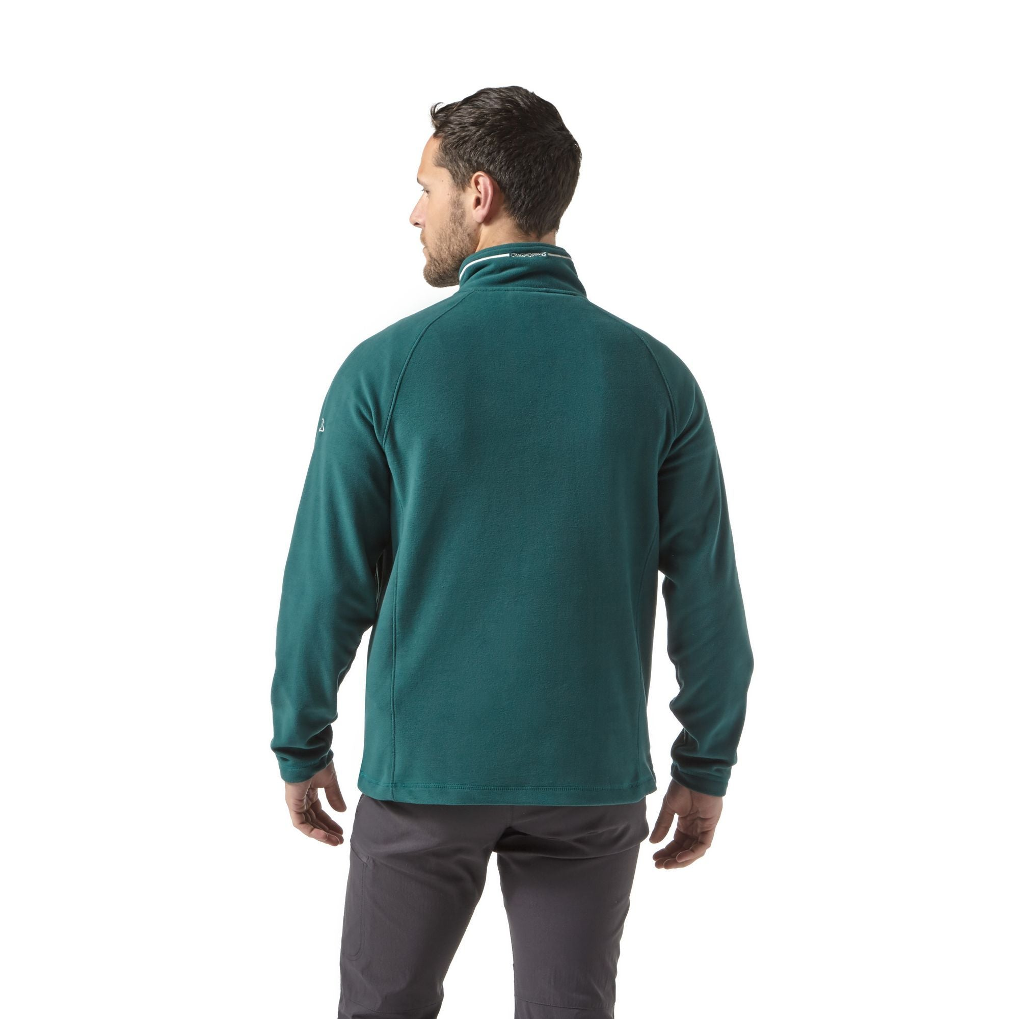 Craghoppers Corey Half Zip Fleece for Men in Mountain Green