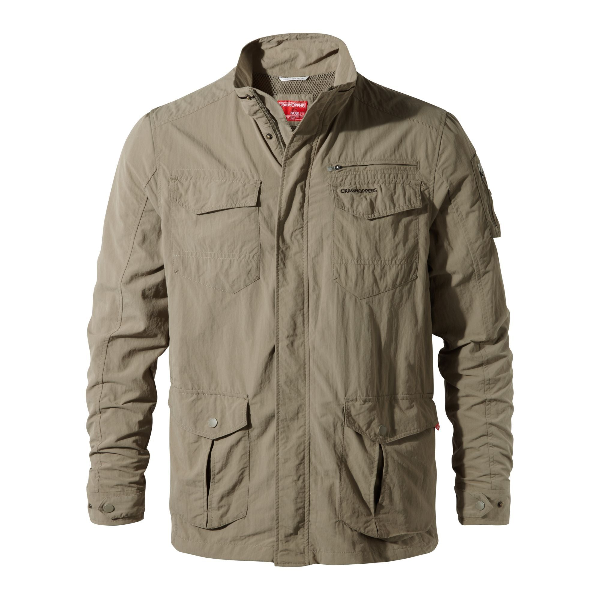 Craghoppers Adventure Jacket for Men in Pebble