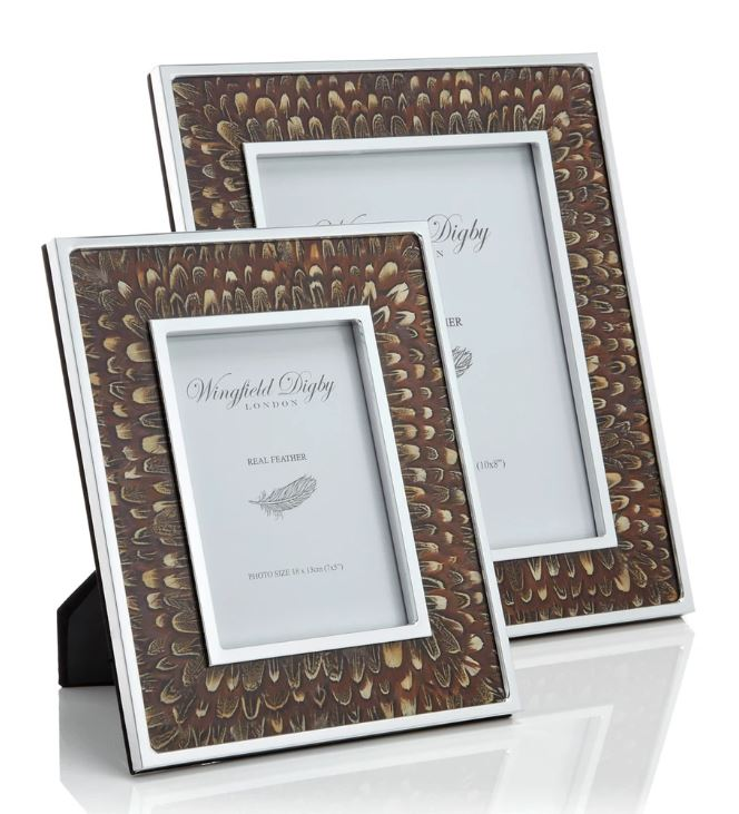 Wingfield Digby 7x5 Cock Pheasant Feather Photo Frame