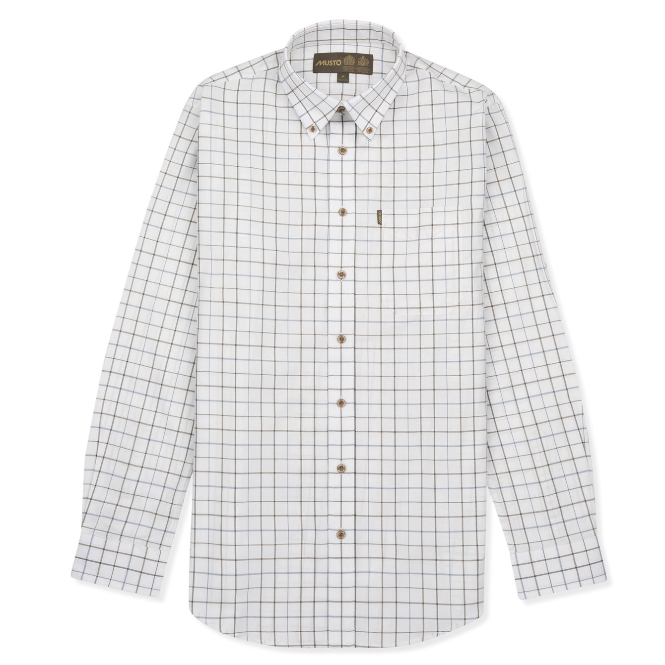 Musto Classic Button Down Shirt for Men in Farlan Moss