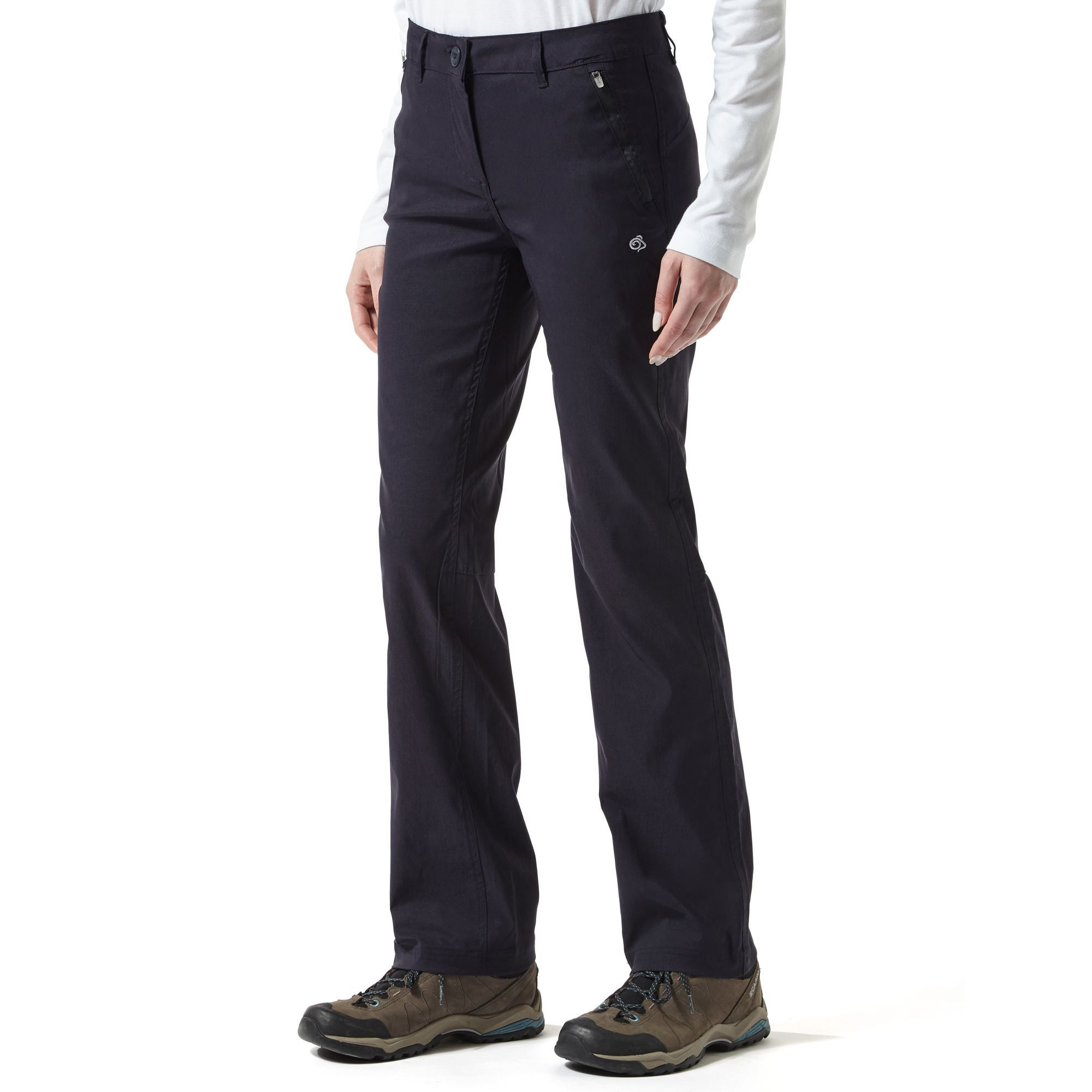 Craghoppers Kiwi Pro Stretch Trousers for Ladies in Dark Navy