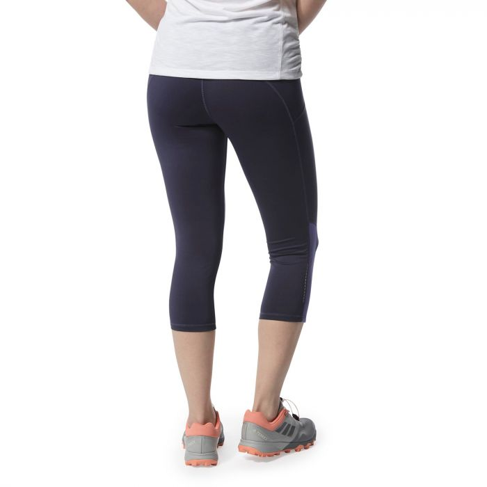 Craghoppers Luna NosiLife Croptight Leggings for Ladies in Blue Navy