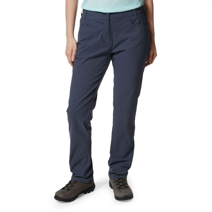 Craghoppers Clara NosiLife Trousers for Ladies in Soft Navy