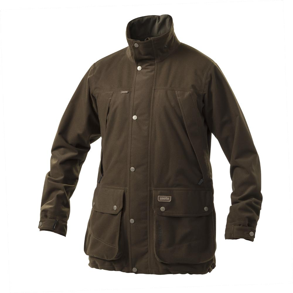 Sasta Dalesman Waterproof Jacket for Men in Dark Olive
