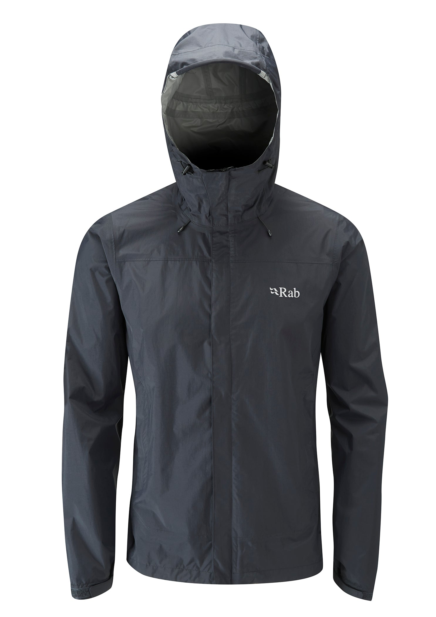 Rab Downpour Waterproof Jacket for Men in Black