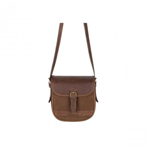 Dubarry Ballymena Saddle Bag for Ladies in Walnut