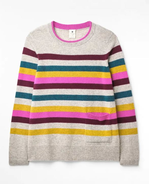 White Stuff Emerson Stripe Jumper for Ladies in Multi