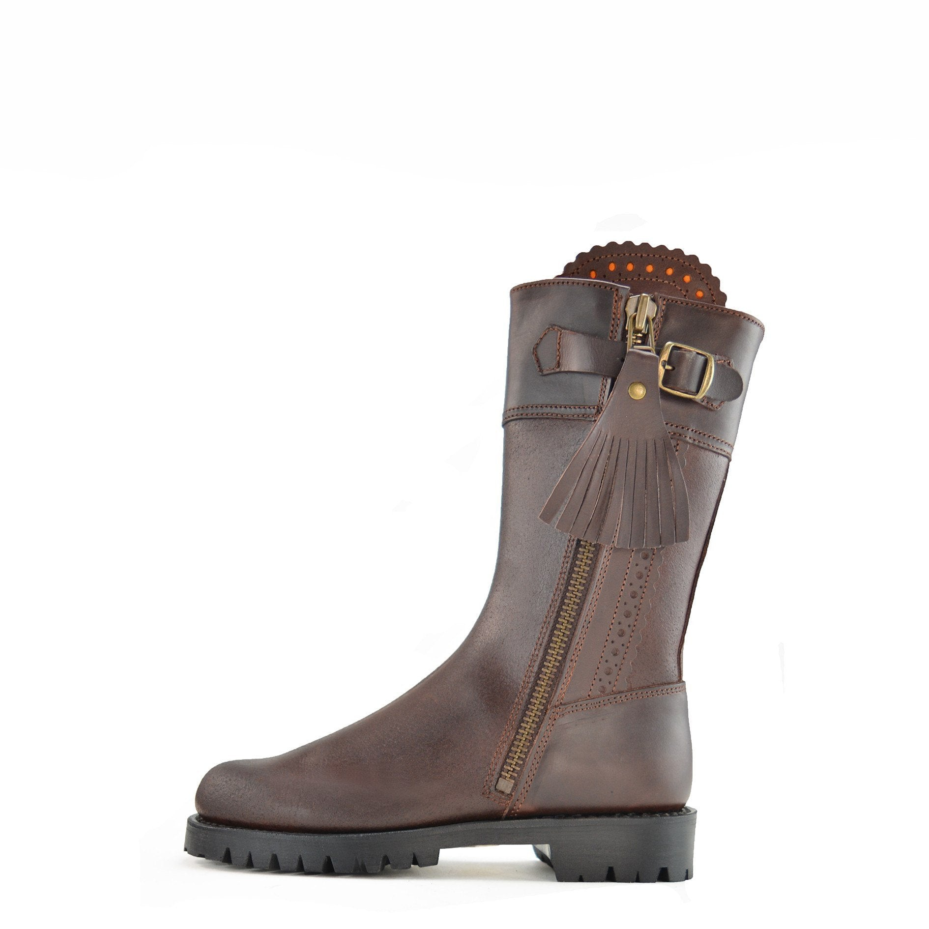 Dukes Boots Fenn 28 Inch Boot for Ladies in Brown