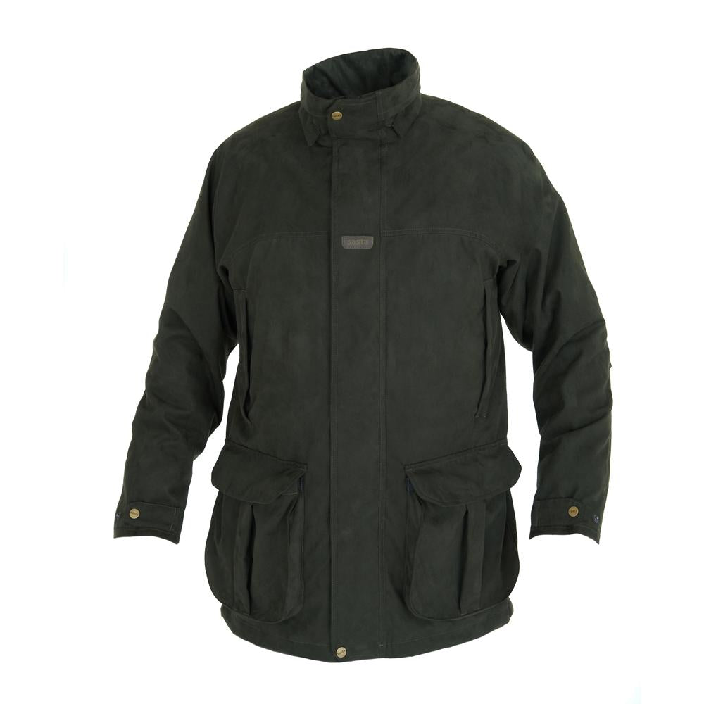 Sasta Haapa Waterproof Jacket for Men in Dark Forest