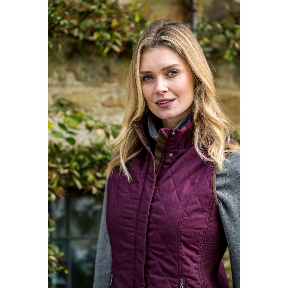 Schoffel Islington Gilet for Ladies in Fig