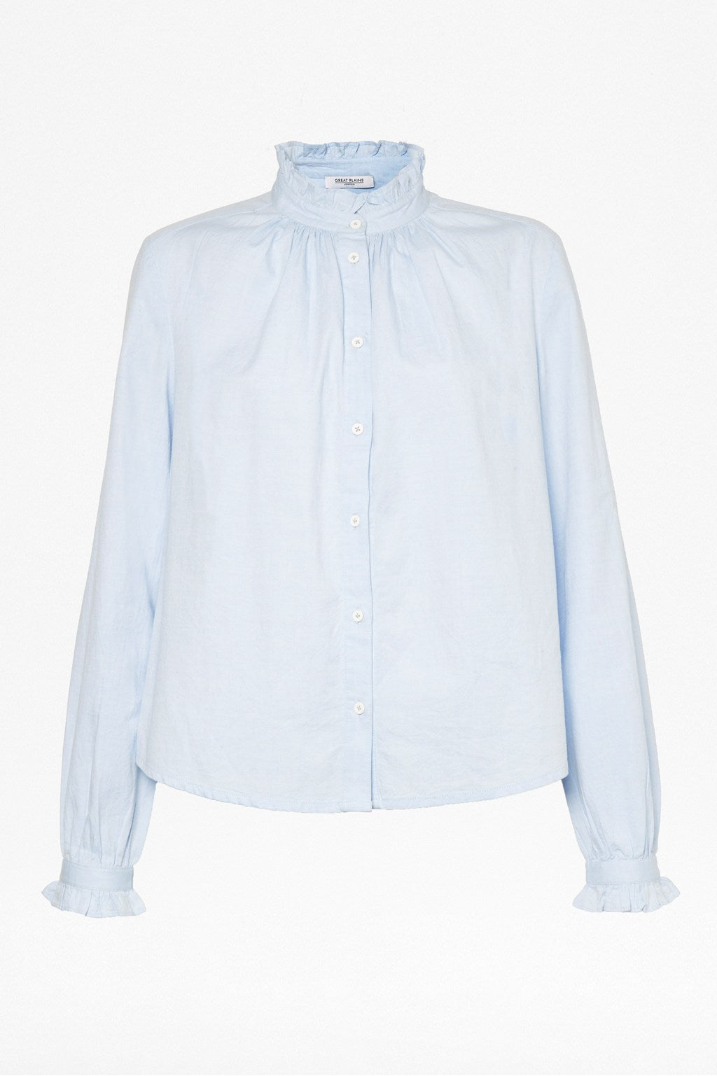 Great Plains Kasbah Long Sleeve Blouse for Ladies in Chambray