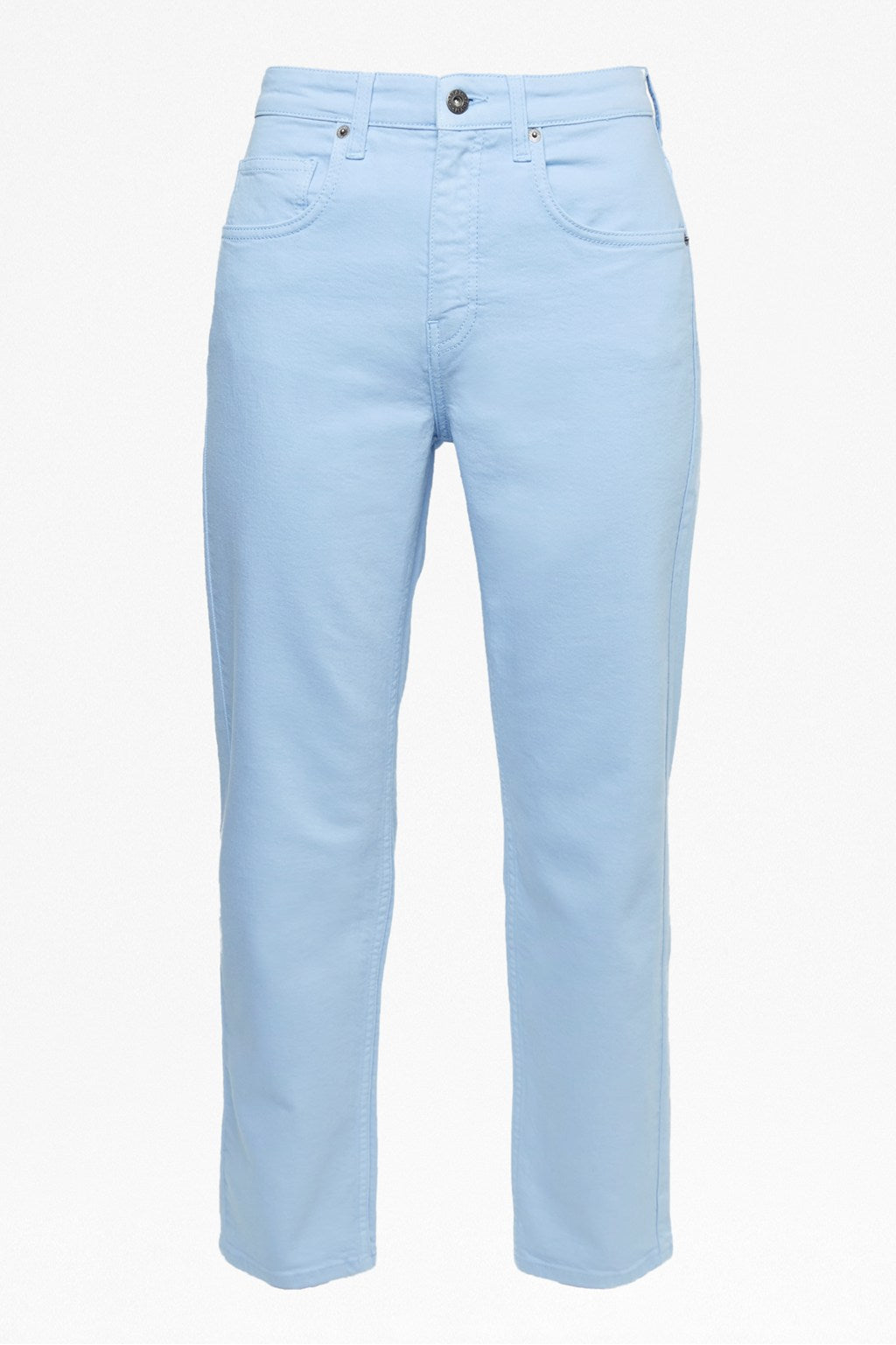 Great Plains High Rise Straight Leg Jeans for Ladies in Powder Blue
