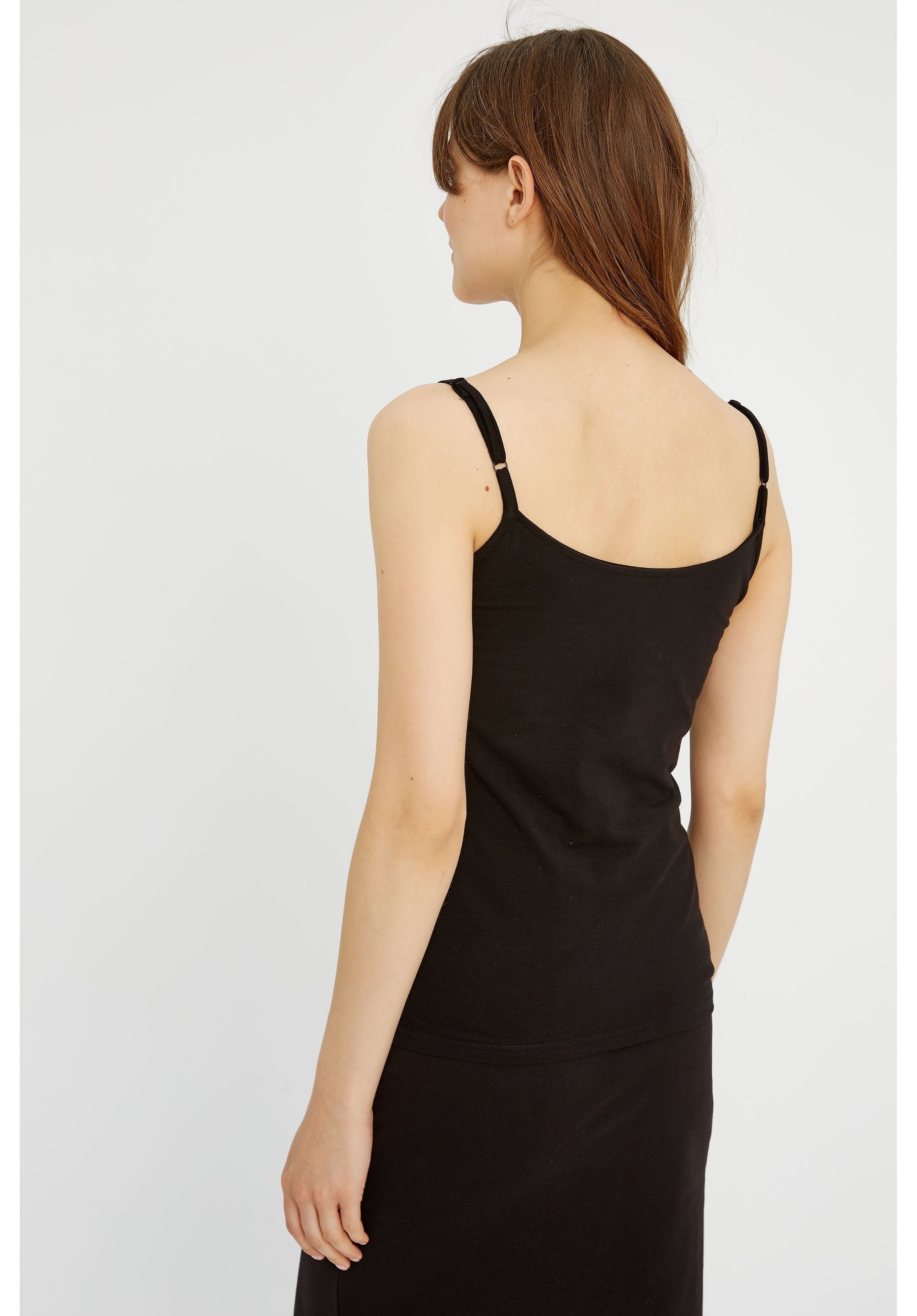 People Tree Jemma Camisole Top for Ladies in Black
